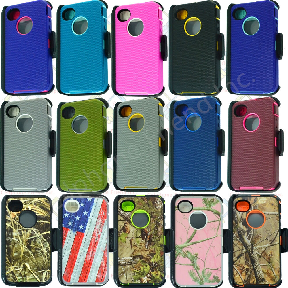 iphone 4s for sale ebay for apple iphone 4 4s cover w screen belt clip fits 17350