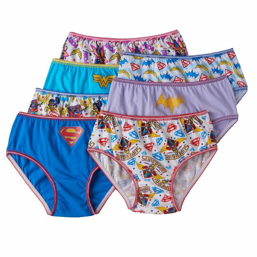 Dc Super Hero Girls Underwear - Undies Dc Girls Hipsters Wonder Woman -5298