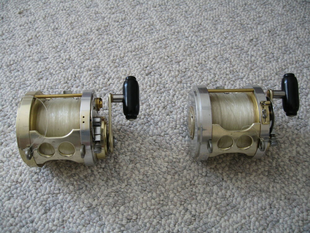 Vintage fin nor 9 0 big game 1 speed fishing reel ebay for Vintage fishing reels