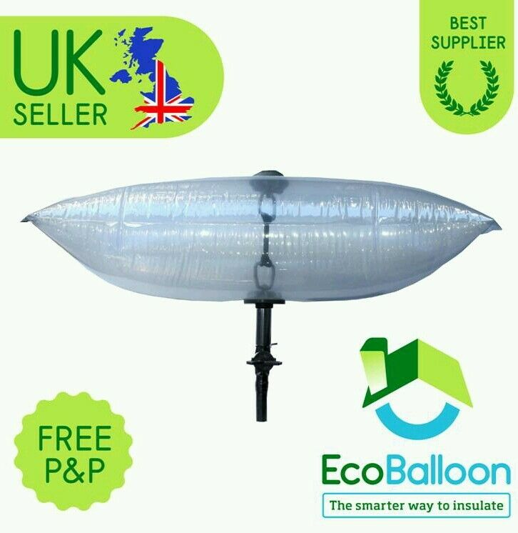 The Eco Balloon Draft Excluder For Medium Chimney 55cm X 25cm Free Postage Ebay