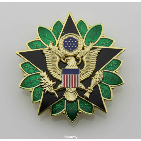 img-US Army Dod General Staff Officer Rank Insignia Medal Badge Pin Insignia- US086