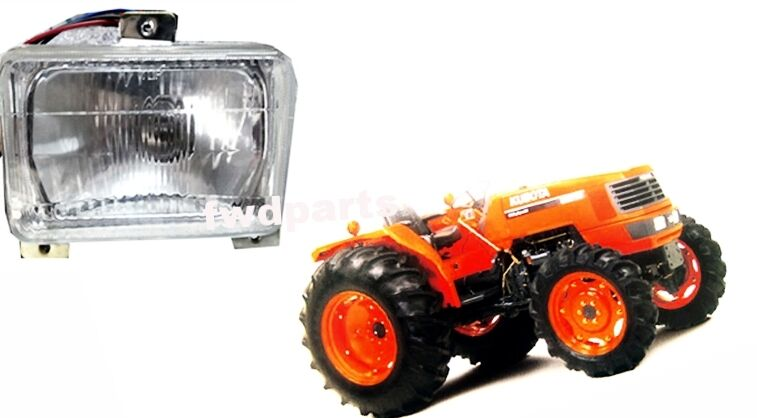 Kubota Headlight Assembly : Use for kubota tractor m left head lights