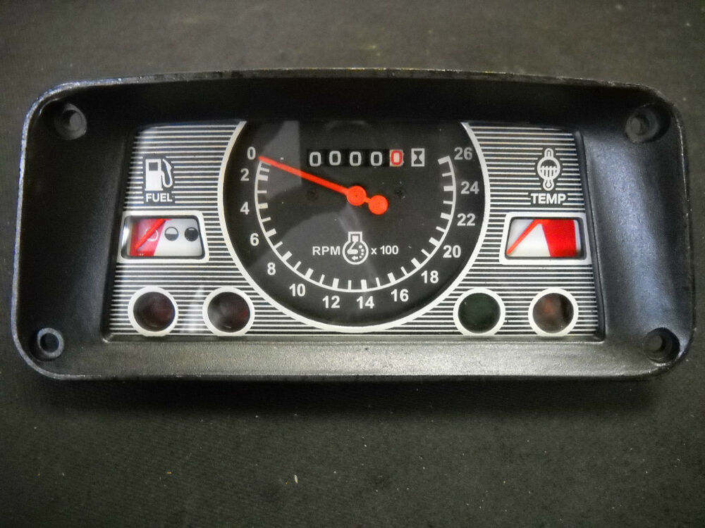Ford tractor gauge cluster