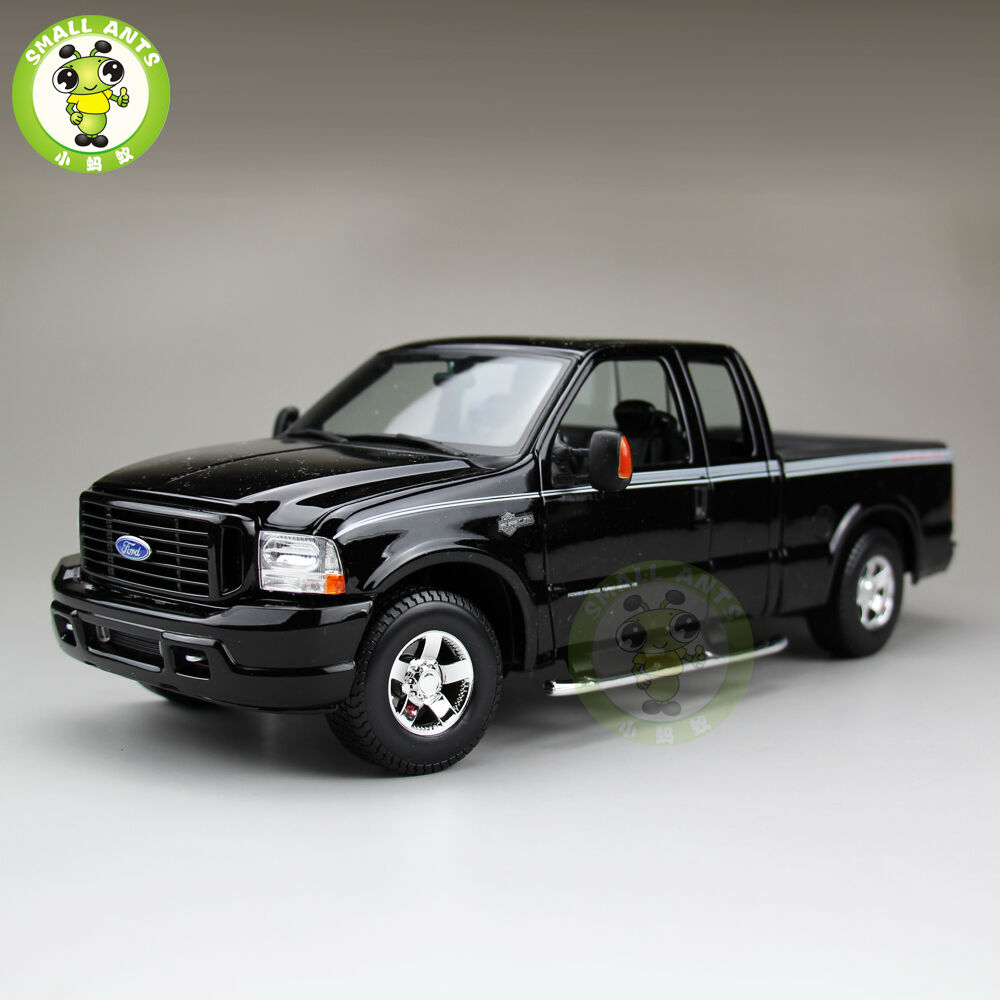 1 18 scale ford f350 harley davidson diecast car pickup truck model maisto 36690 ebay. Black Bedroom Furniture Sets. Home Design Ideas