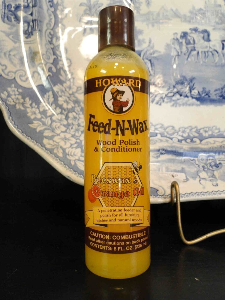 Howard Feed N Wax Wood Polish Conditioner Beeswax And Orange Oil For Furniture Ebay