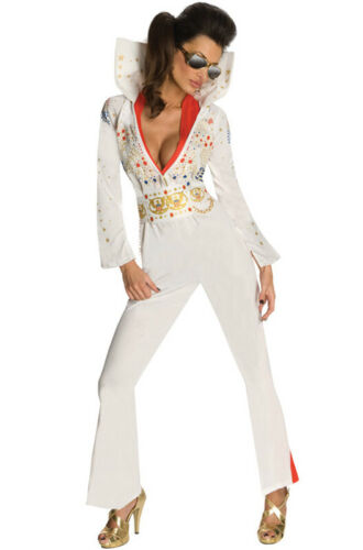 Secret Wishes Rock and Roll King Elvis Adult Costume