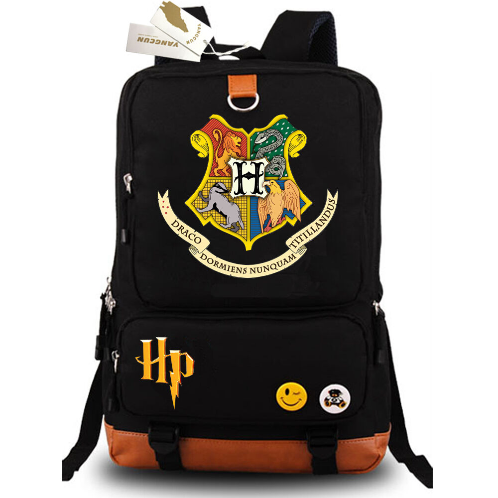 harry potter travel backpack hogwarts school bags hiking. Black Bedroom Furniture Sets. Home Design Ideas