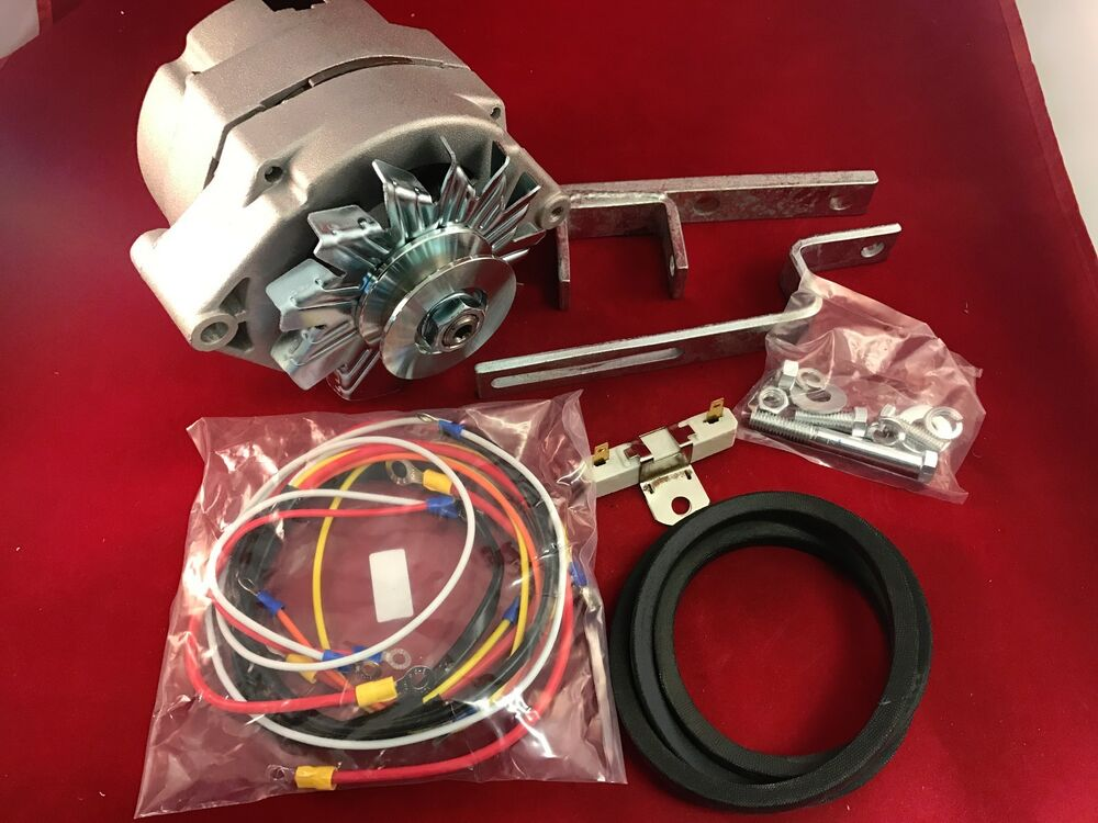 Ford Tractor Belts : Ford tractor alternator generator conversion kit