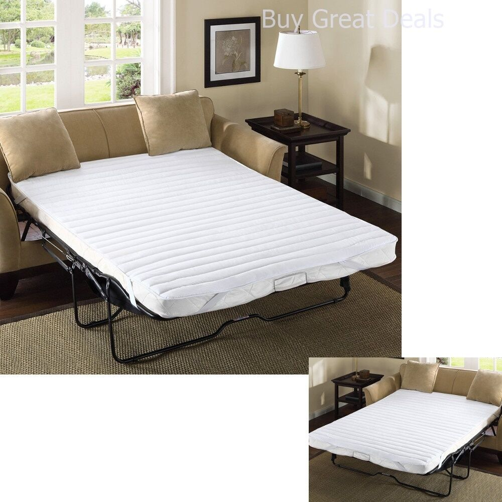 Pull Out Sofa Bed Mattress Pad Bedding 72x60 Waterproof