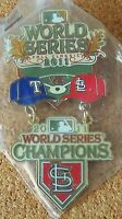 2011 St. Louis Cardinals World Series Champions dangle pin WS W.S. champs