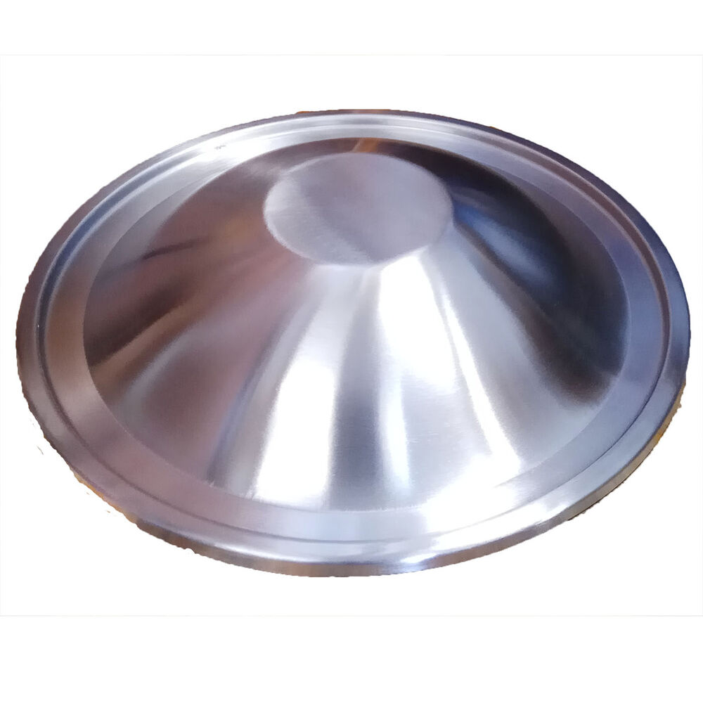 Stainless steel lid for l or turbo boiler no holes