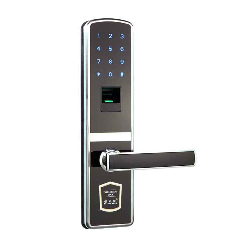 Digital Door Lock Touch Screen Fingerprint Password