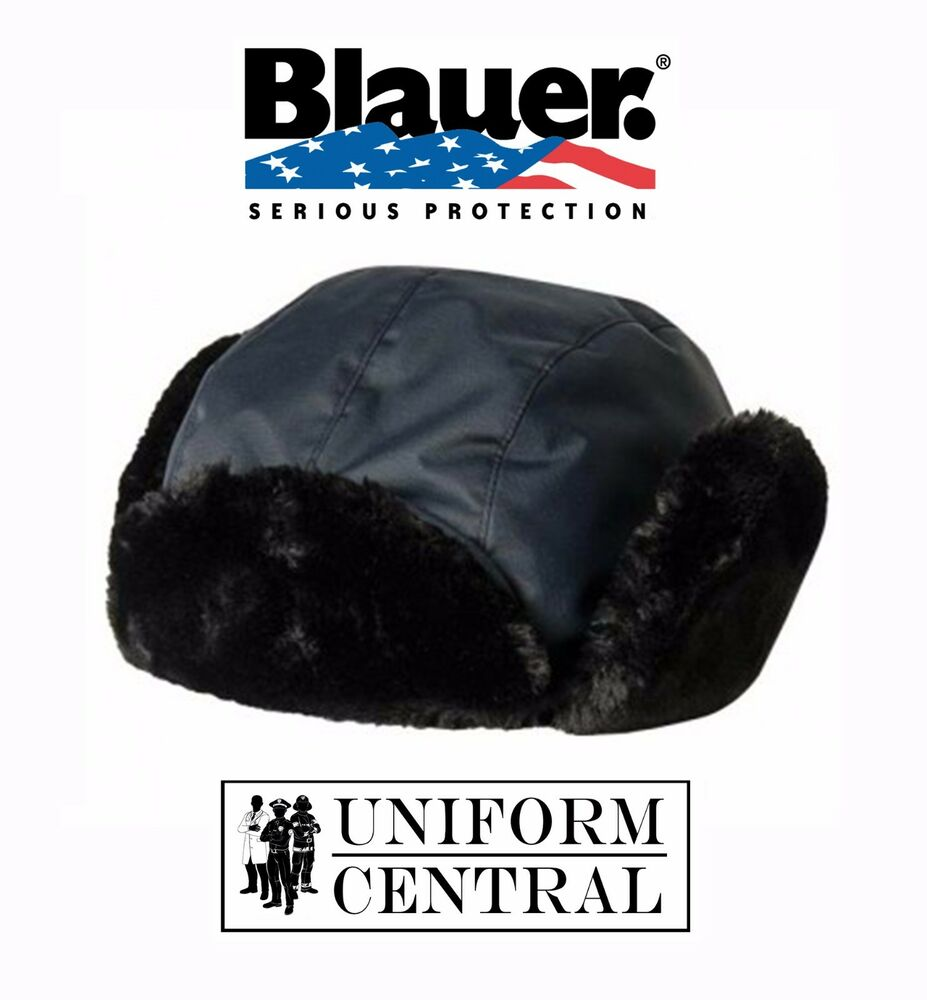 New Blauer Navy Waterproof Arctic Trooper Hat Law