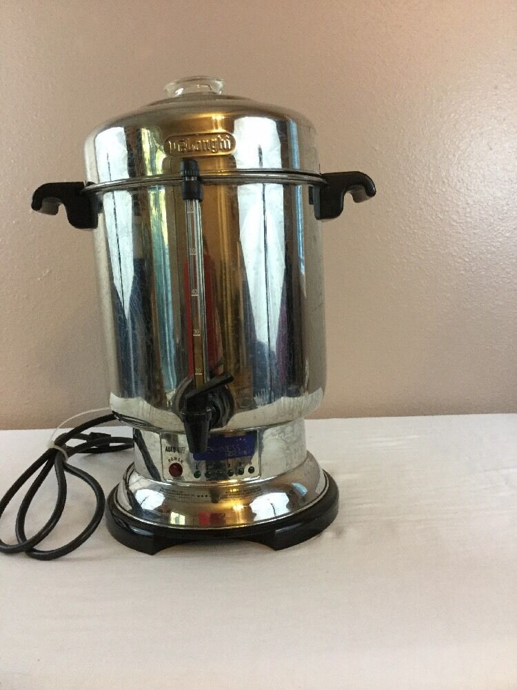 Delonghi Coffee Maker Parts Usa : DeLonghi DCU72 60 Cup Coffee Maker Percolator Commercial or Home eBay