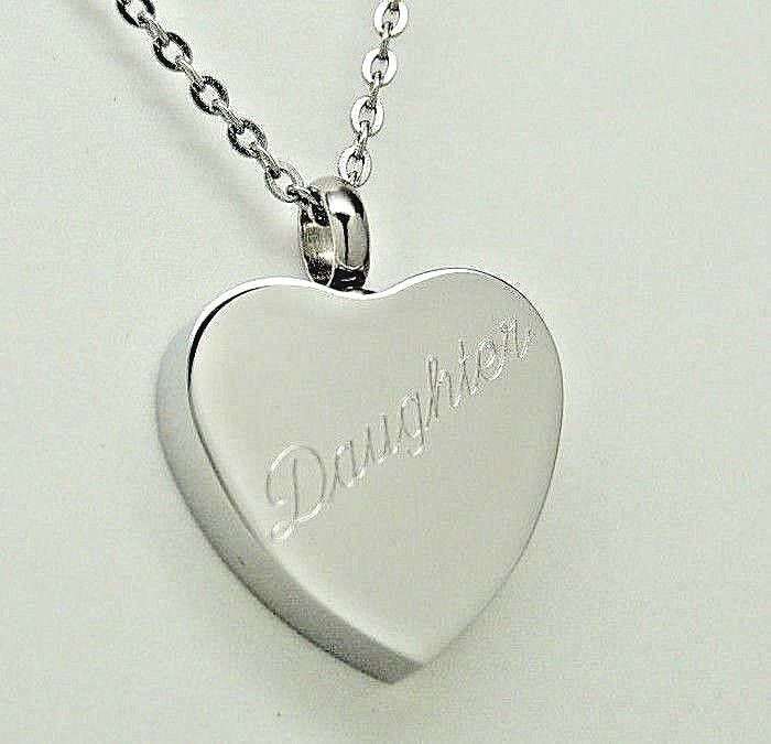 daughter cremation jewelry urn necklace memorial pendant