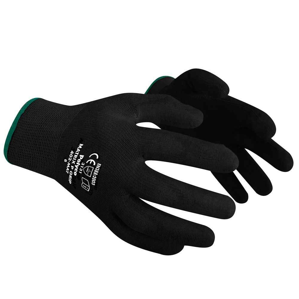 Polyco Matrix P Grip PU Palm Caoted Precision Work Gloves