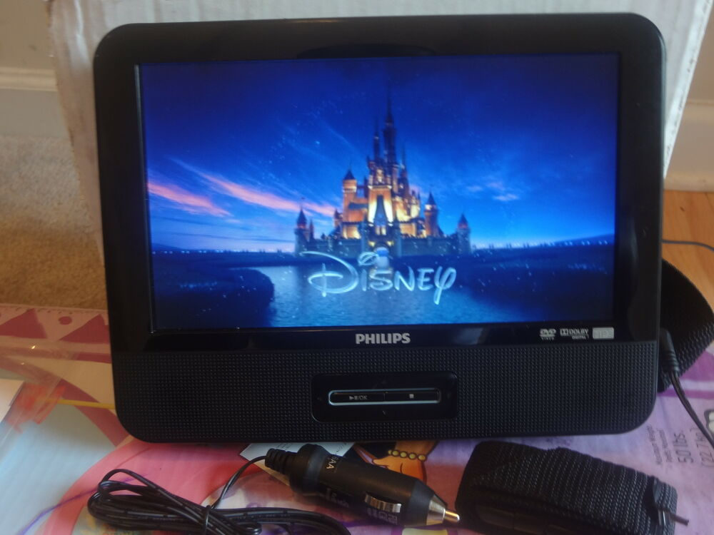 philips pd9012 portable dvd player 9 w headrest mounting. Black Bedroom Furniture Sets. Home Design Ideas