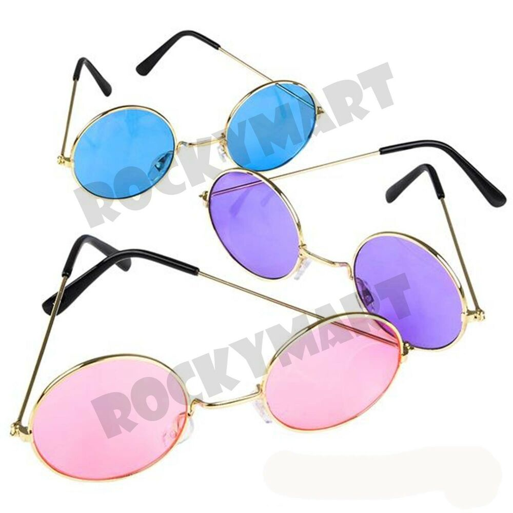 john lennon style colored sunglasses choose color rm4094 ebay. Black Bedroom Furniture Sets. Home Design Ideas
