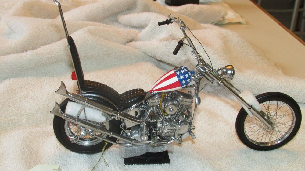 franklin mint harley davidson easy rider motorrad die cast. Black Bedroom Furniture Sets. Home Design Ideas