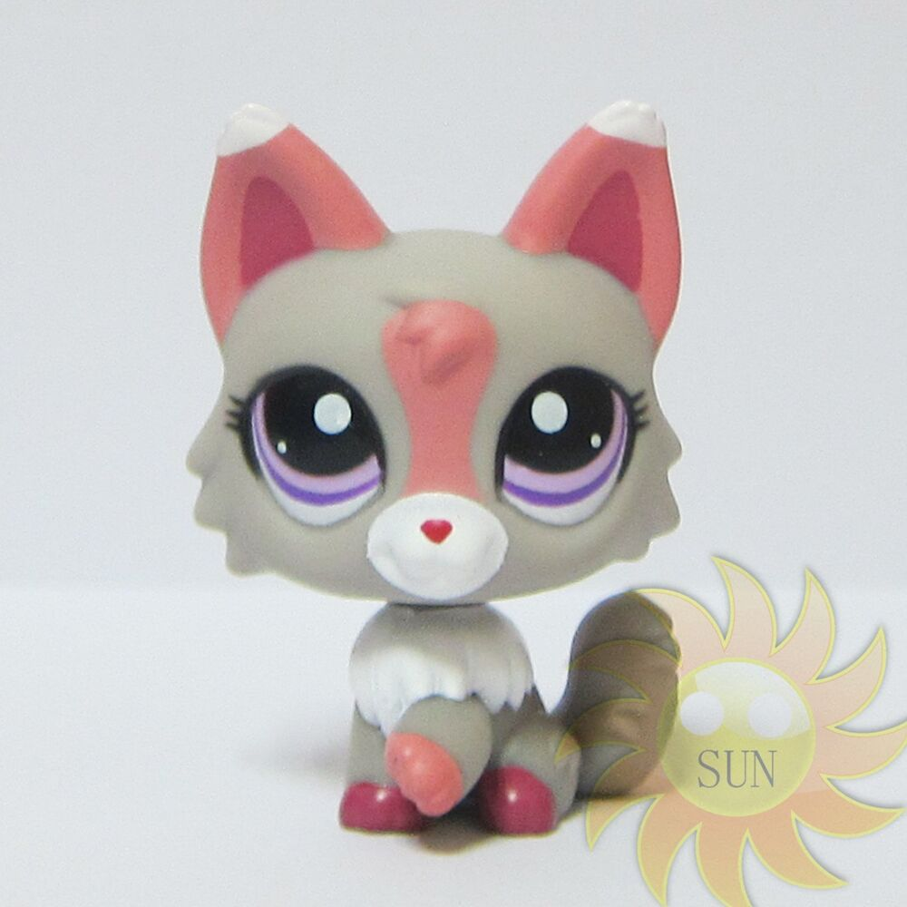 Littlest Pet Shop Lps Collection Animal Toys 1921 Gray