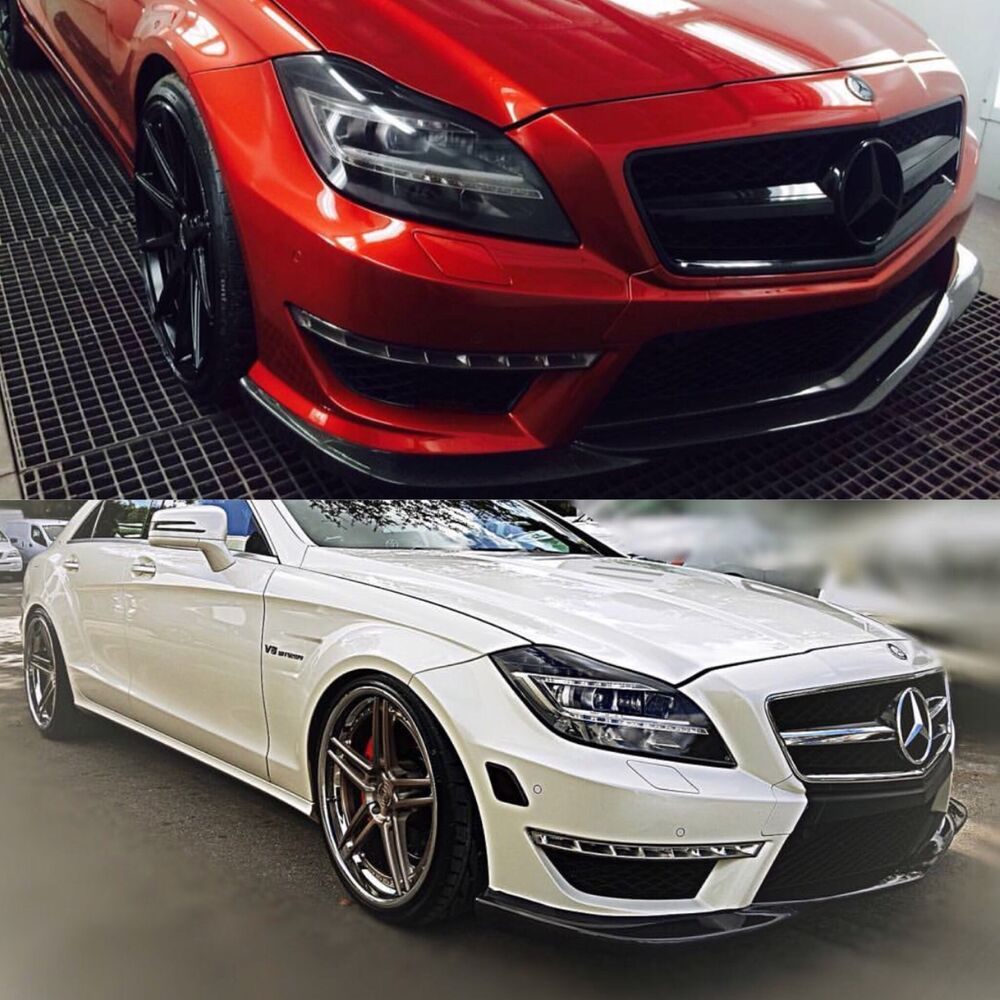 Mercedes Benz W218 CLS 63 AMG GH Style Carbon Fiber Front