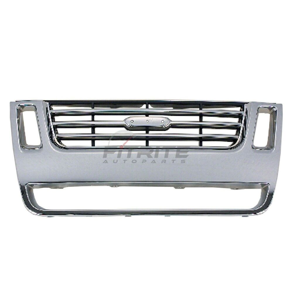 2010 Ford Explorer Sport Trac Adrenalin: NEW FRONT GRILLE EXCEPT ADRENALIN PACKAGE FOR 2006-2010