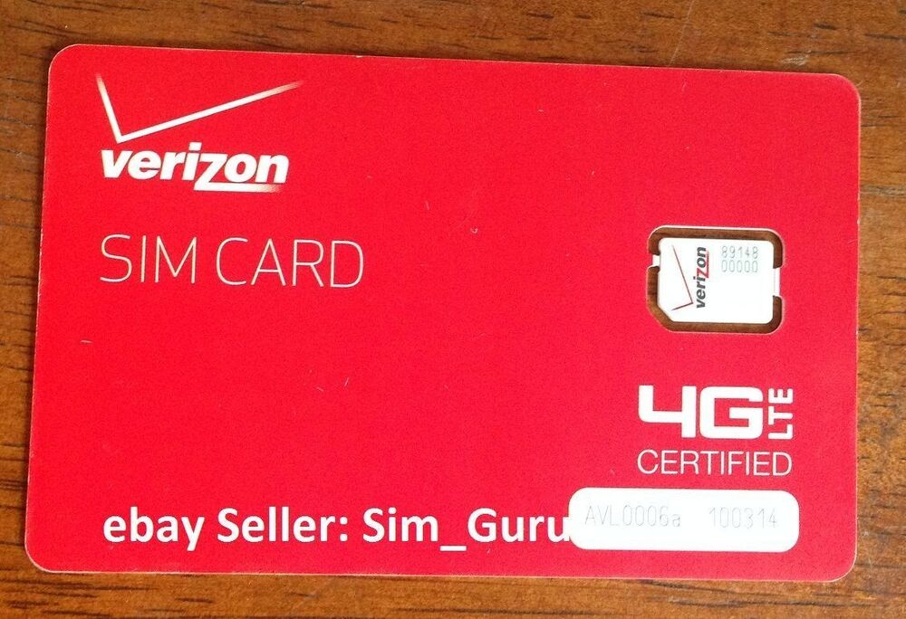 verizon iphone 4 sim card verizon wireless 4g lte nano sim card 4ff for iphone 5 5s 18148