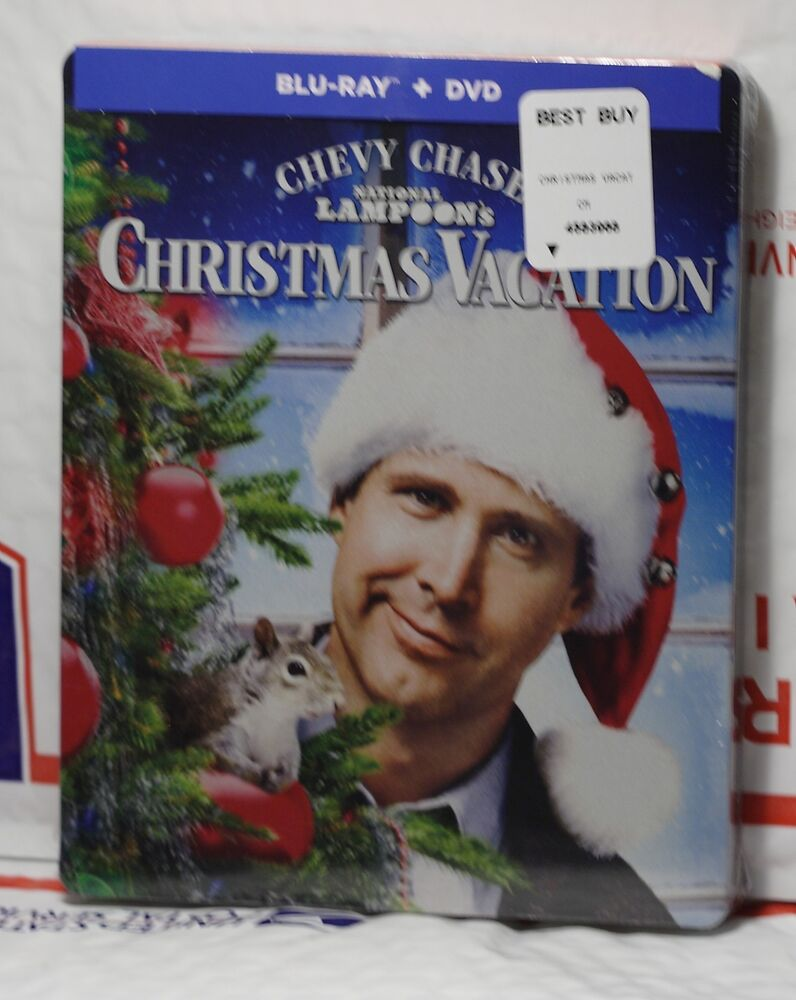 NEW NATIONAL LAMPOONS CHRISTMAS VACATION BLU-RAY+DVD