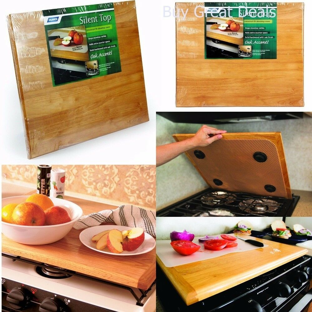 Stove Top Cover Stovetop Counter Cutting Mat Rv Trailer