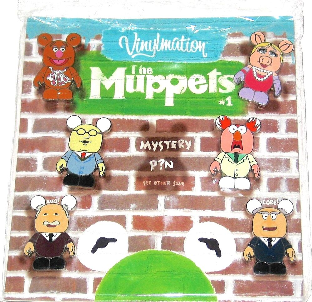 1000 Ideas About Statler And Waldorf On Pinterest: Disney Booster VInylmation 7 Pin SET Muppets Miss Piggy