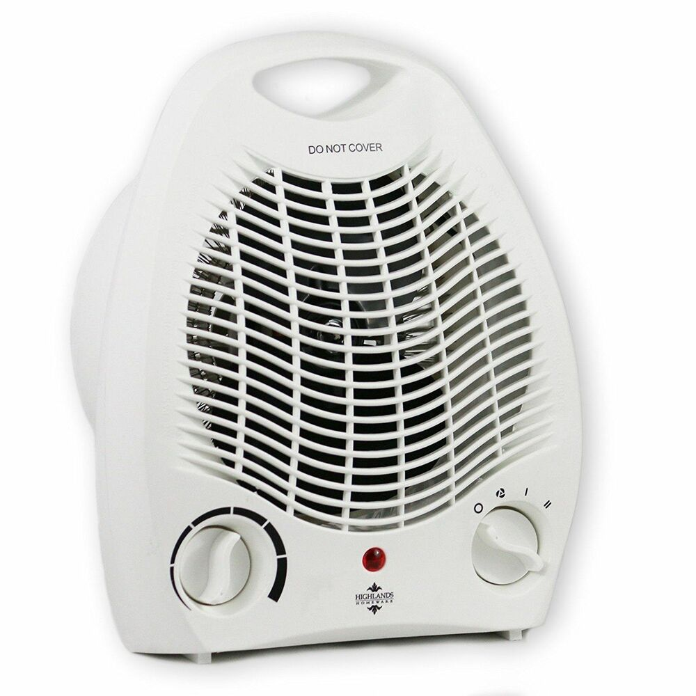 2kw 2000w Portable Electric Thermostat Upright Adjustable