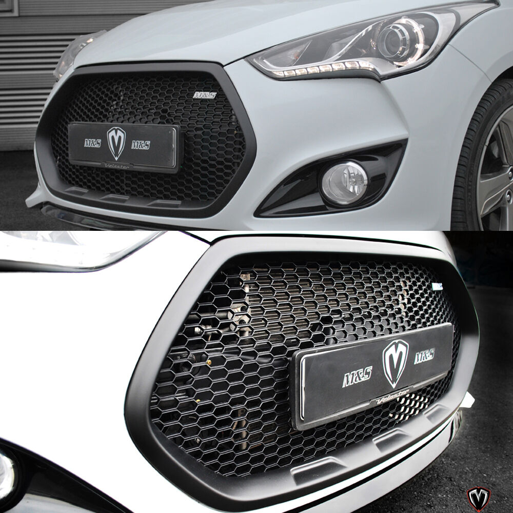 Hyundai Veloster Turbo Used: M&S Replacement Tuning Grille For Hyundai Veloster Turbo