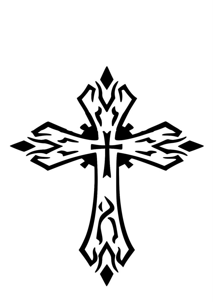 It's just an image of Astounding Free Printable Cross Stencils