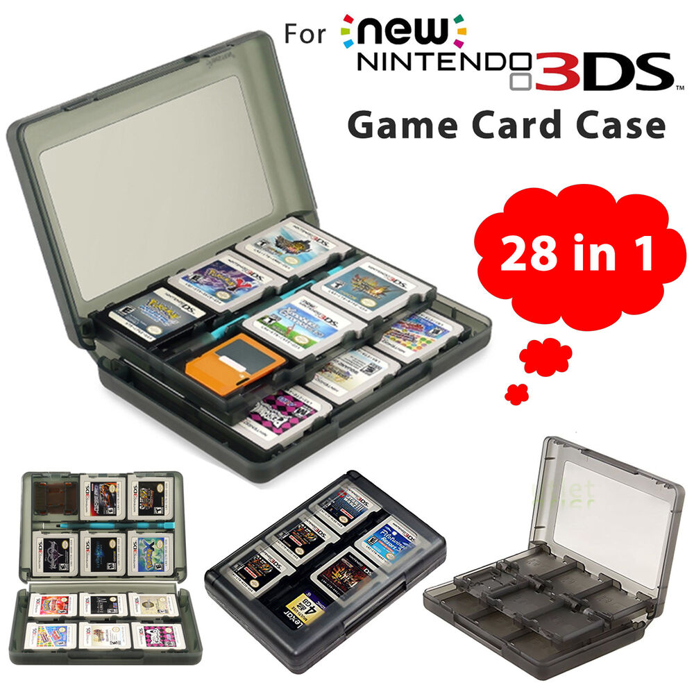 Nintendo 3ds Game Card : For nintendo ds xl in game sd card case holder