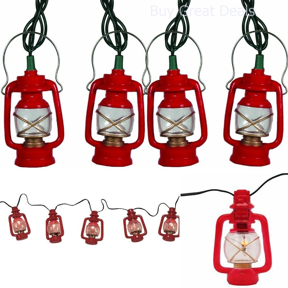 Indoor Lantern Lights: Patio String Lights Outdoor Indoor Lantern RV Porch Night