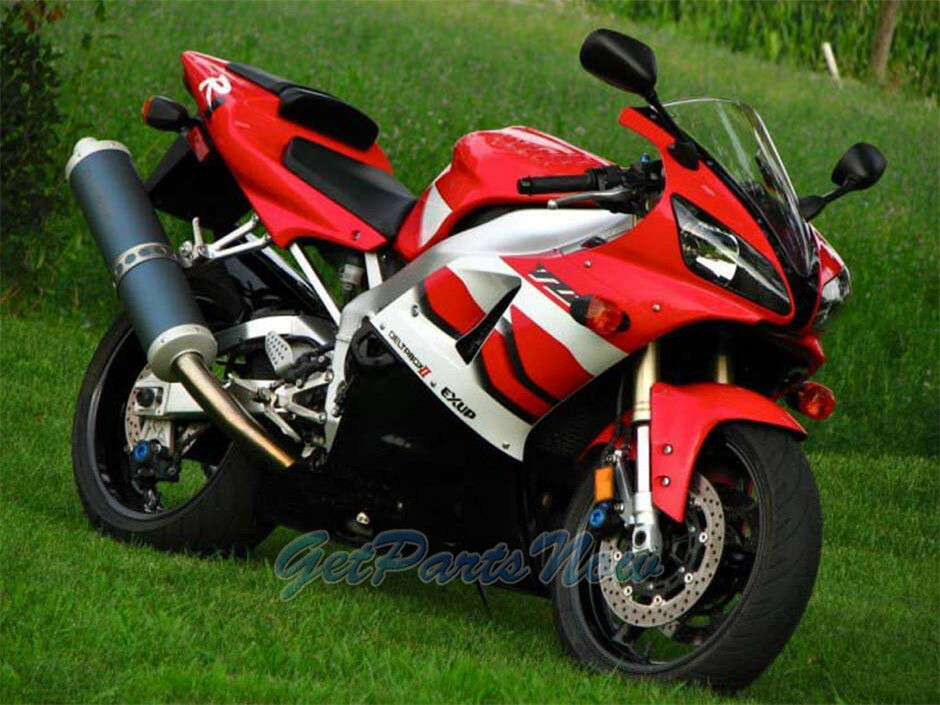 Fit for yamaha r1 yzf 2000 2001 red injection fairing for Yamaha r1 deals