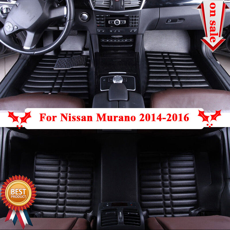 for nissan murano 2014 2016 car interior floor carpet water resistance mat liner ebay. Black Bedroom Furniture Sets. Home Design Ideas