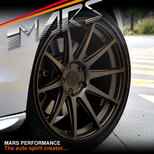MARS MP MS Bronze 4x 19 Inch Concave Stag Alloy Wheels