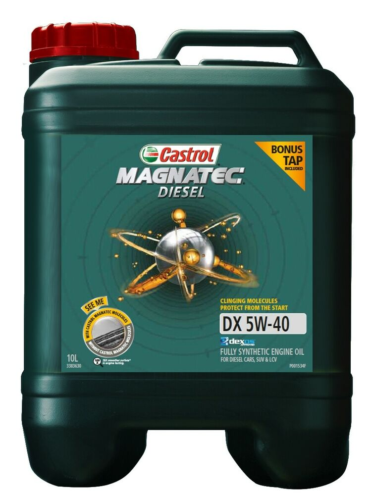 castrol magnatec 5w40 diesel dx engine oil 10l 3383630 ebay. Black Bedroom Furniture Sets. Home Design Ideas