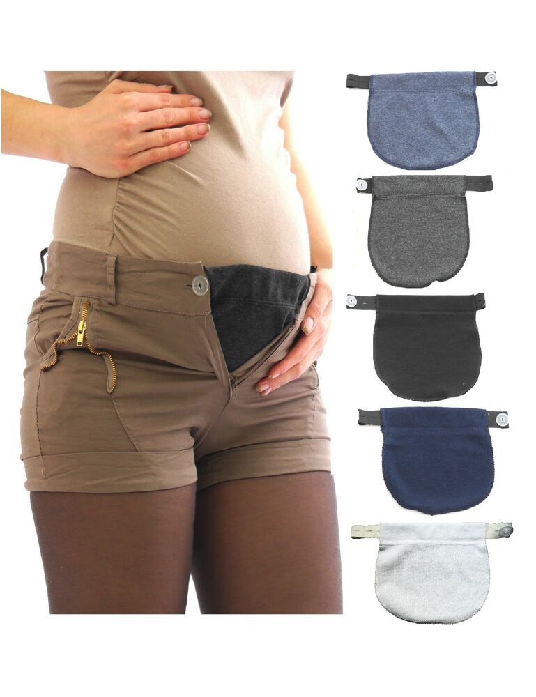 Pants Extension Pants Skirt Bauch Band Rubberband Buttons