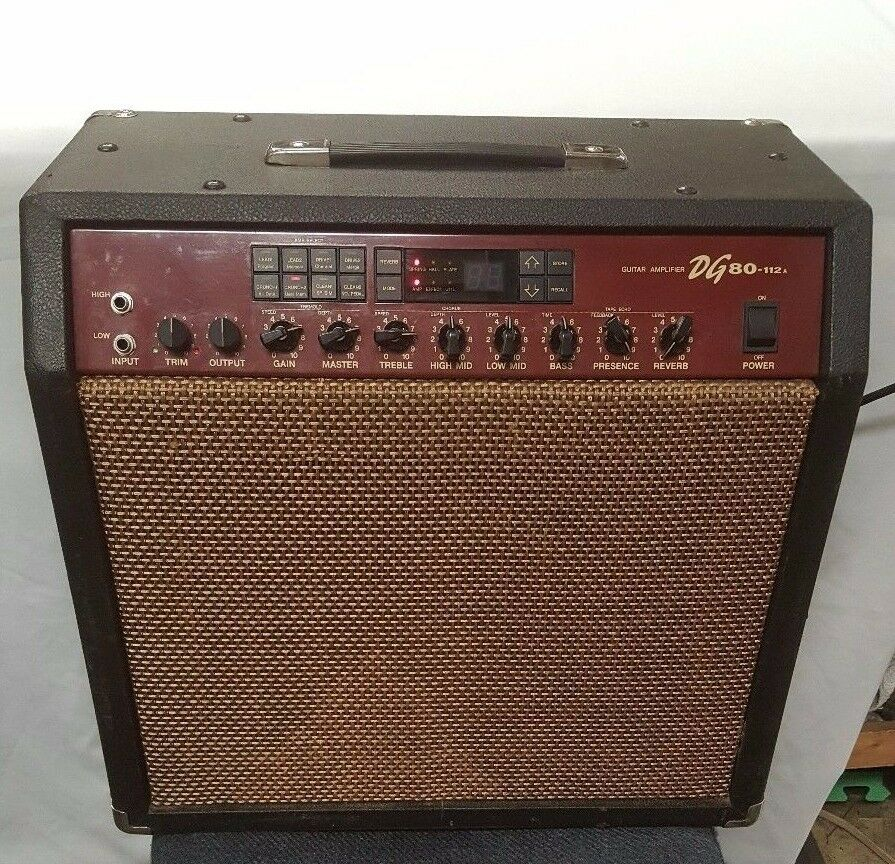 yamaha dg 80 112a digital 60 watt guitar amplifier ebay. Black Bedroom Furniture Sets. Home Design Ideas