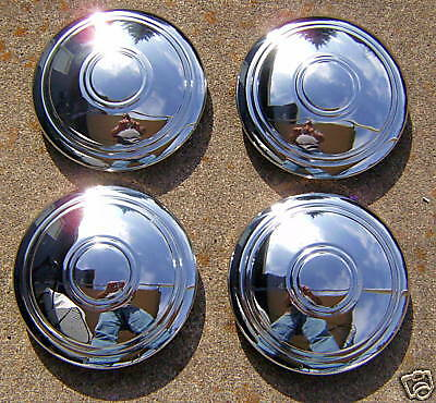 Chevy Chrome Smoothie Rally Hub Caps 4 Chevrolet Chevy