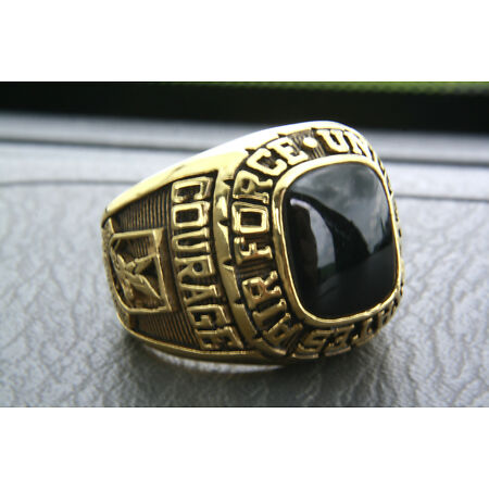 img-US Air Force Ring Coat of Arms Seal Ring Gold Plated Gold Plated Men's Ring 351
