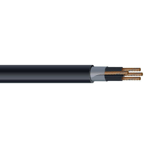 So Cord Listed 3 4 5 Conductor So Sow Cable Flexible Cored: PER FOOT 6 AWG 3 Conductor THHN PVC Tray Cable 600V Ground