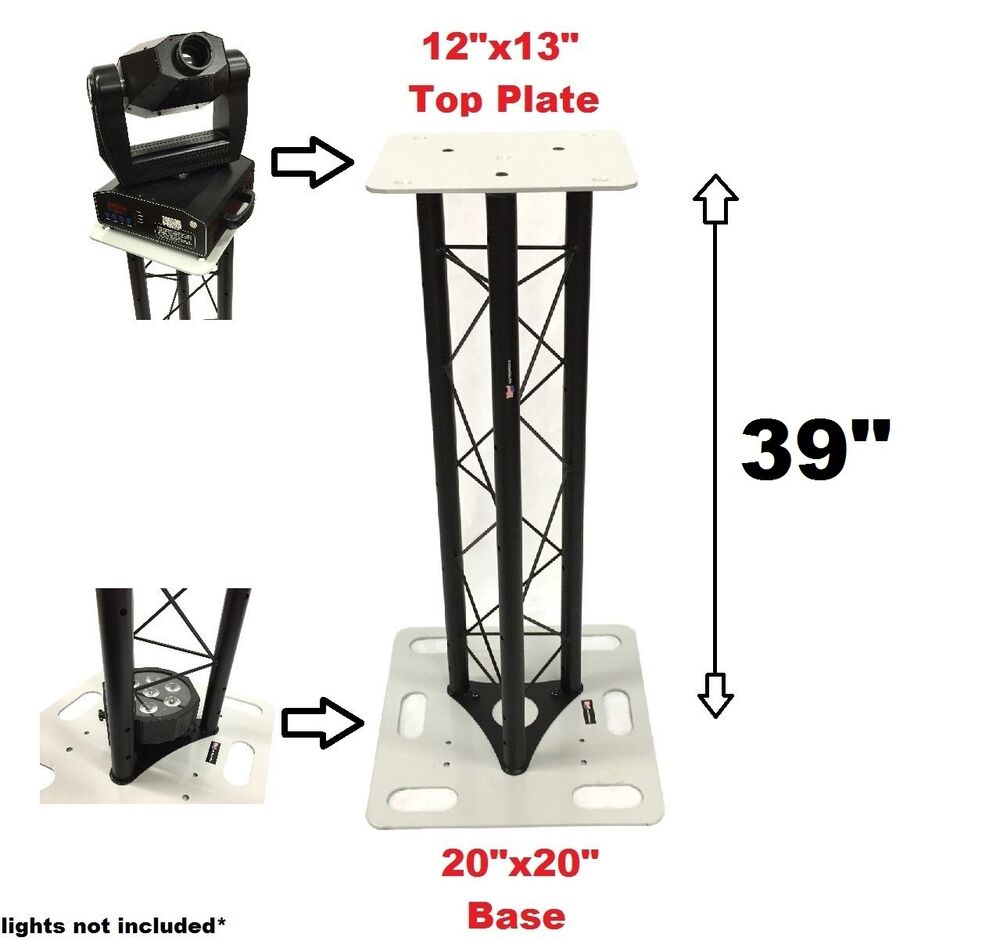 cedarslink 39 triangle stage club dj lighting truss tower totem system ebay. Black Bedroom Furniture Sets. Home Design Ideas