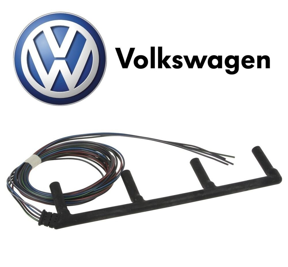 For Vw Beetle Golf Jetta 19l L4 Diesel Glow Plug Wiring Harness Oes 1998 Volkswagen Door 038971782c Ebay