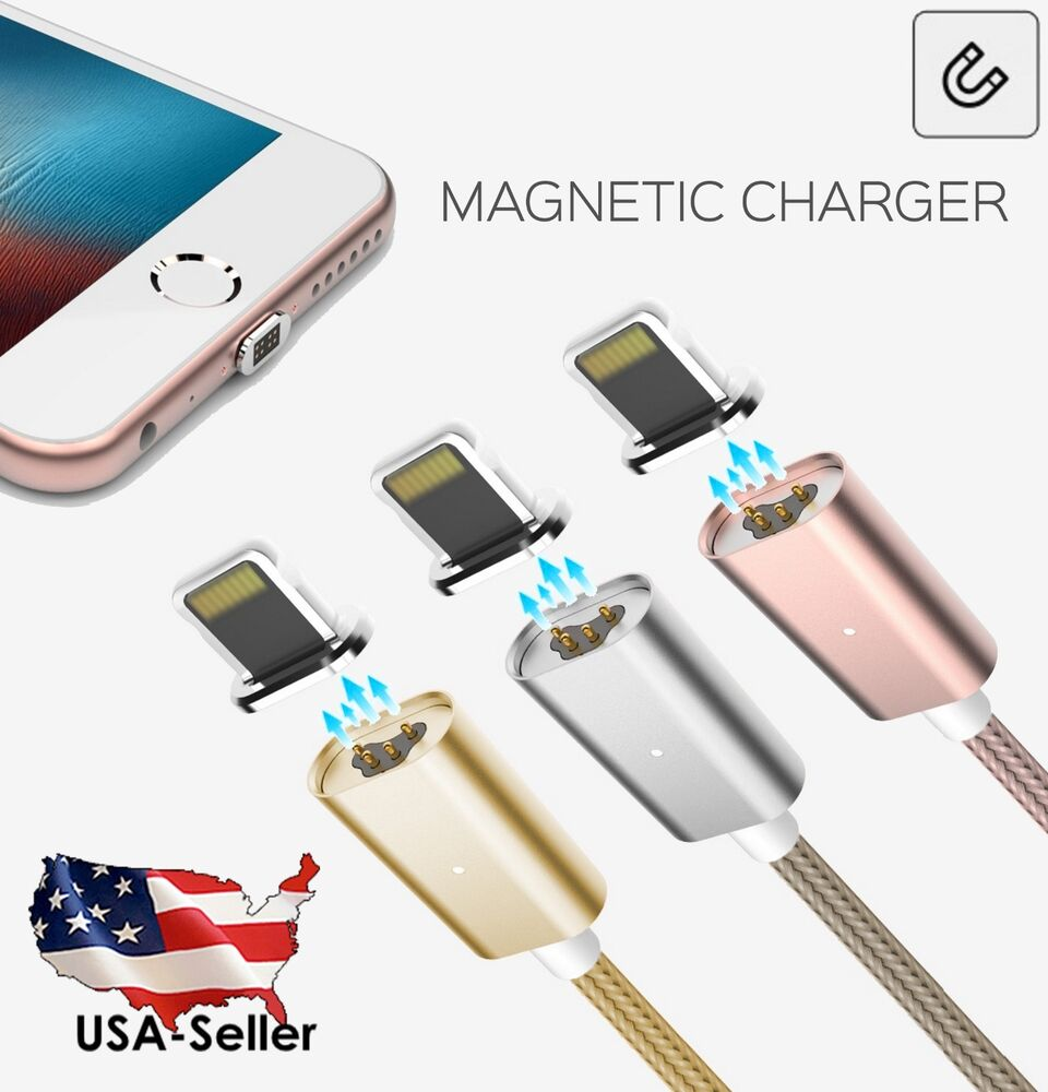 iphone magnetic charger new magnetic adapter charger lightning usb cable for 2637