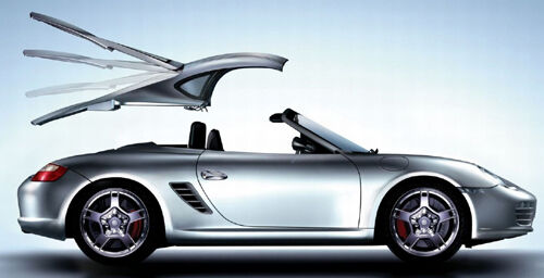 porsche 987 boxster cayman style hardtop for 2005 to 2012