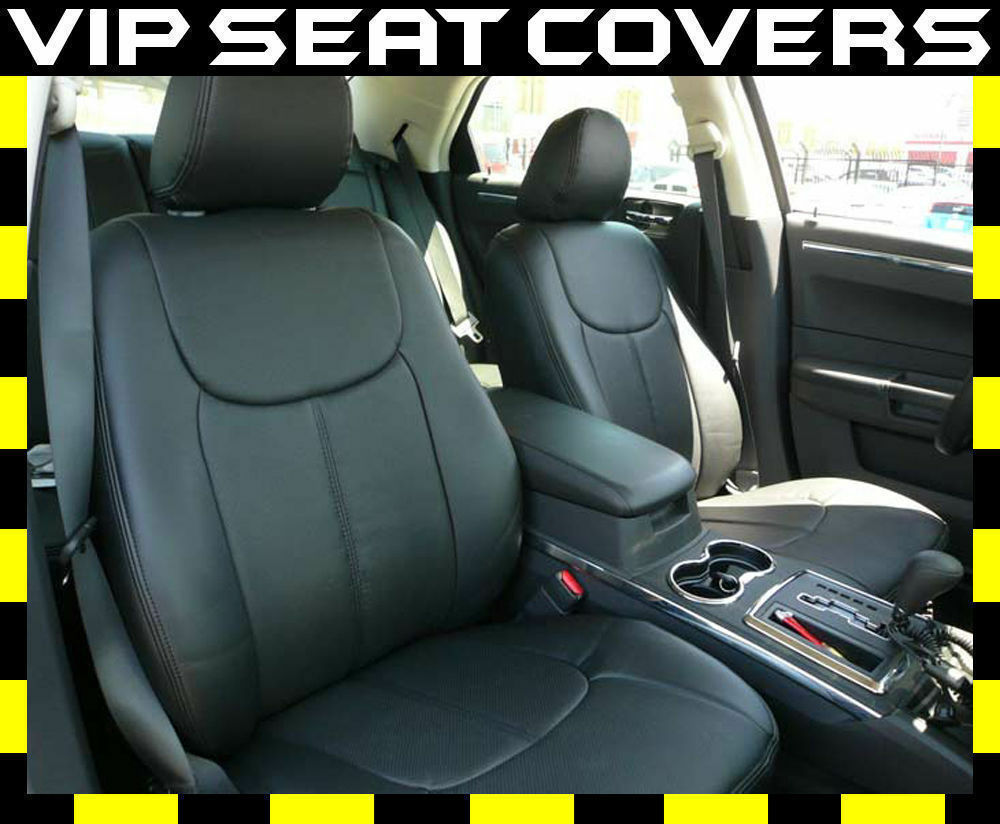 Dodge Charger Clazzio Leather Seat Covers Ebay