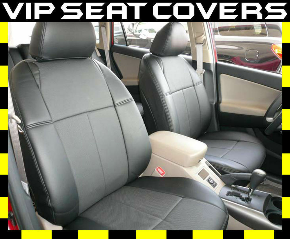 toyota rav4 clazzio leather seat covers ebay. Black Bedroom Furniture Sets. Home Design Ideas